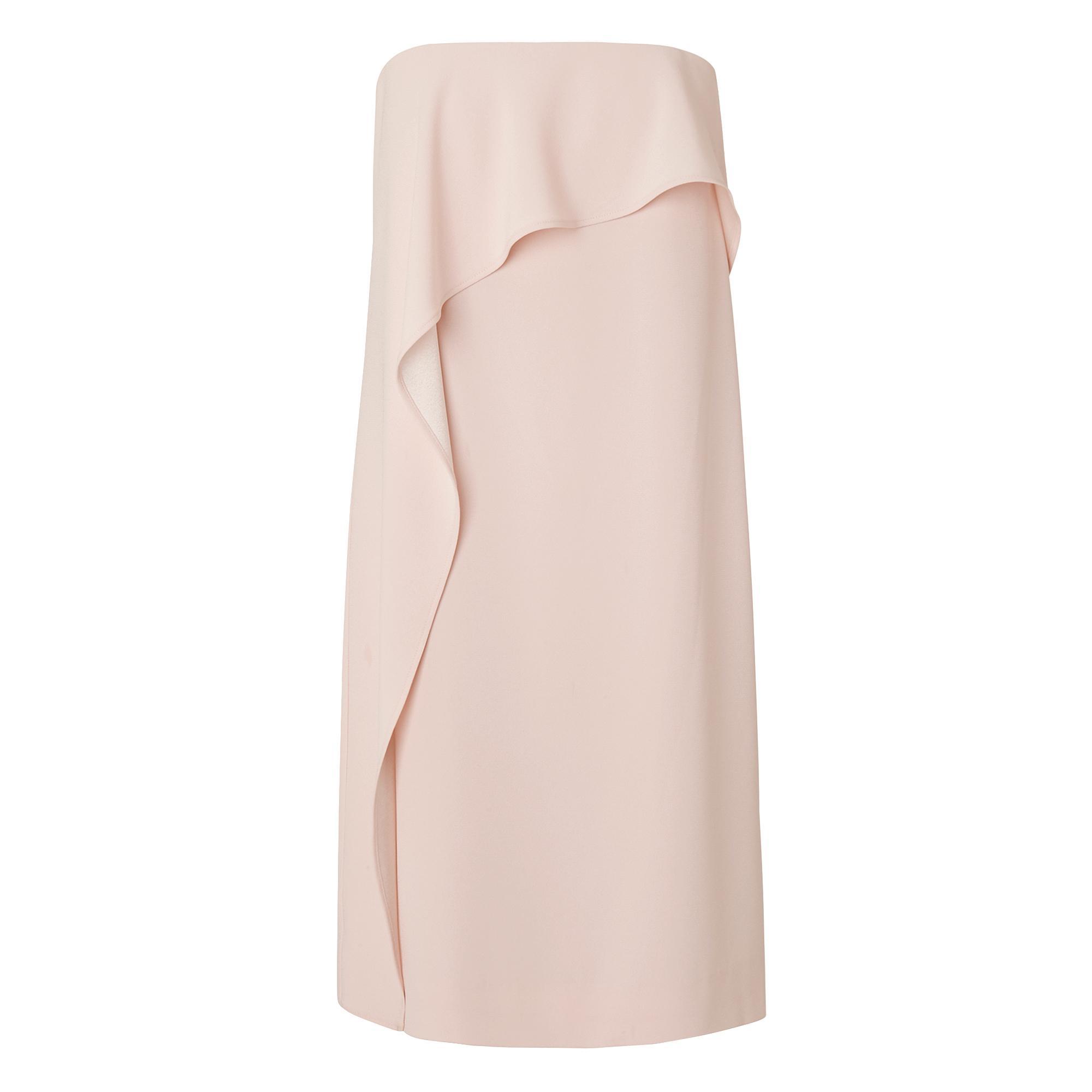 L.K.Bennett Delia Strapless Ruffle Dress