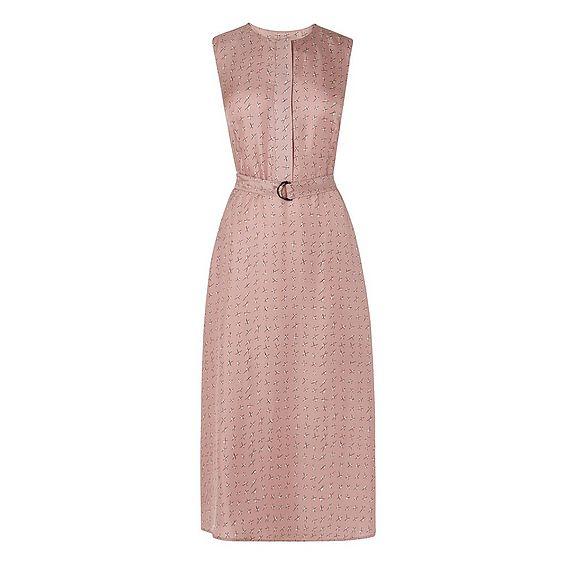 Lois Cross Printed Dress