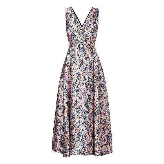 Sulan Multi Color Printed Dress