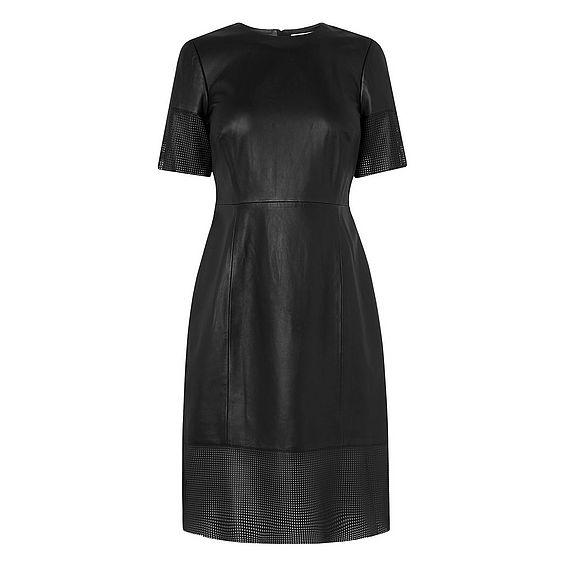 Zena Leather Dress
