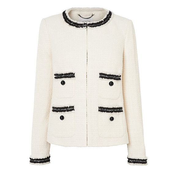 Charl Cream Boucle Jacket