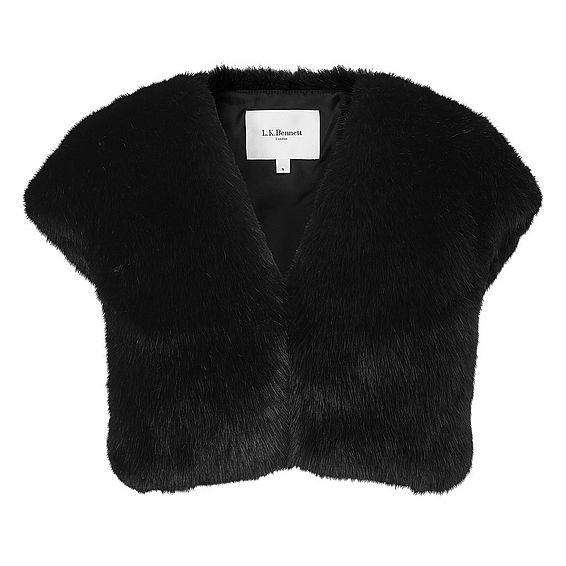 Evella Faux Fur Jacket