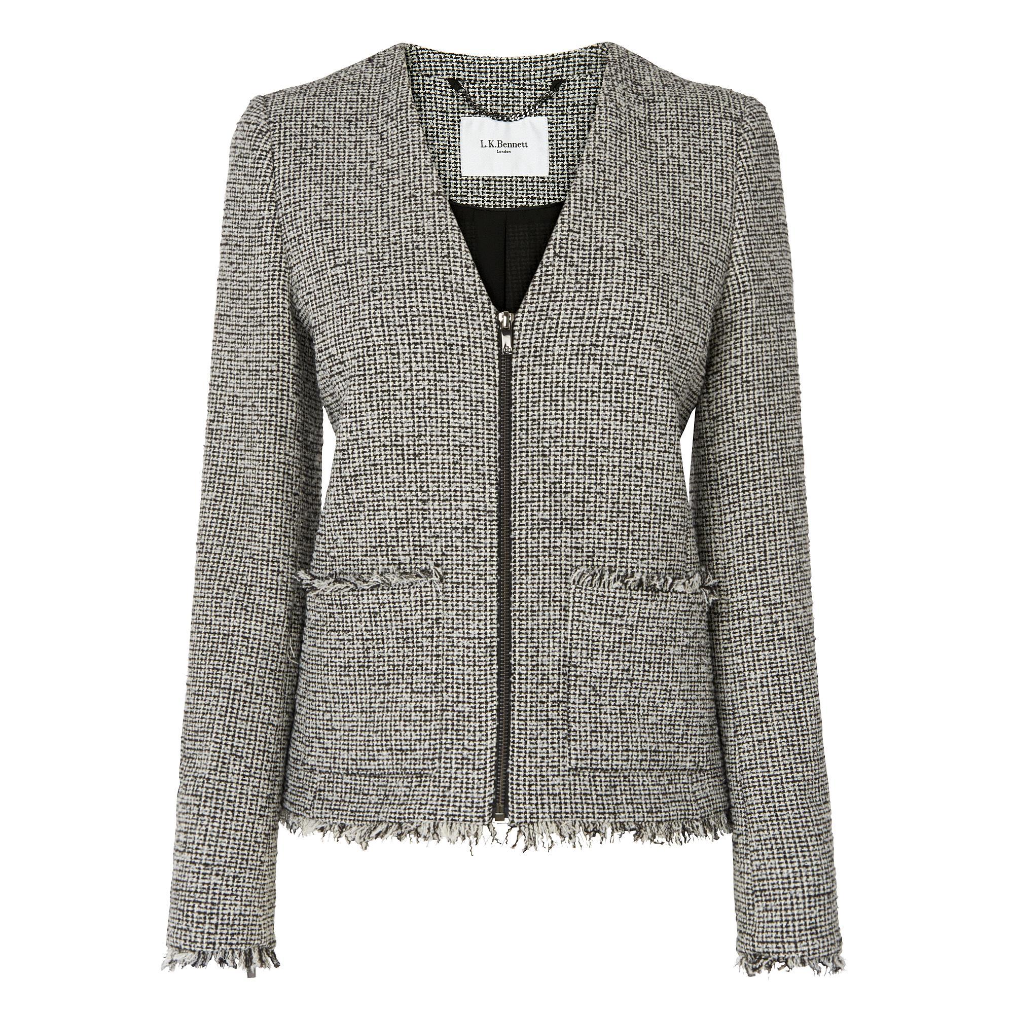 L.K.Bennett Nessa Tweed Jacket