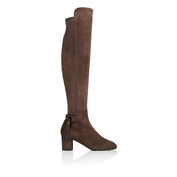 Camille Knee High Suede Boot