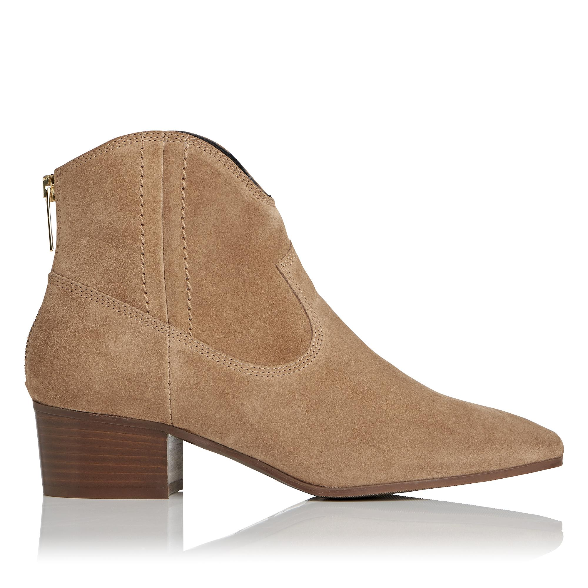 Dylan Suede Ankle Boot