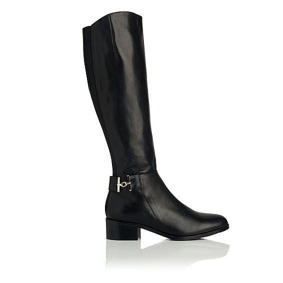 Georgina Knee High Leather Boot