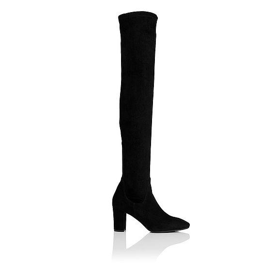 Lorde Knee High Suede Boot