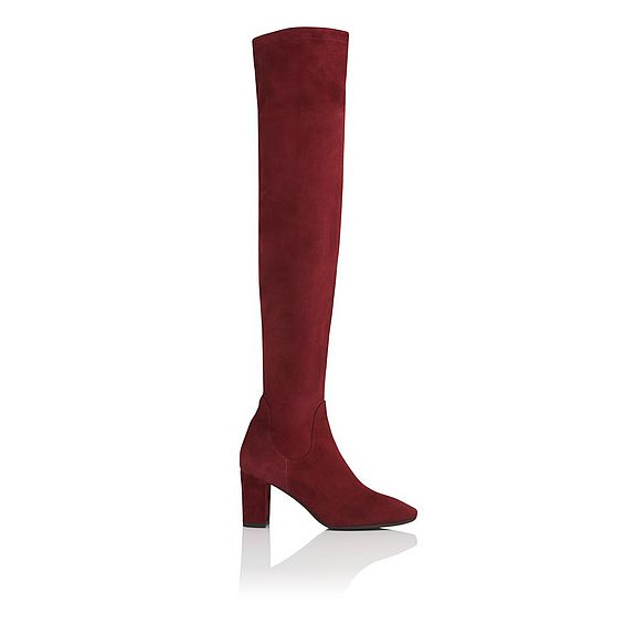 Lorde Knee High Suede Boot