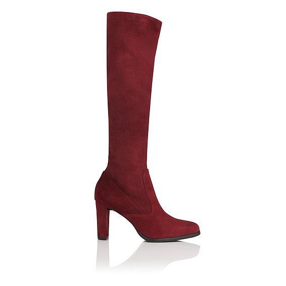 Marietta Knee High Suede Boot