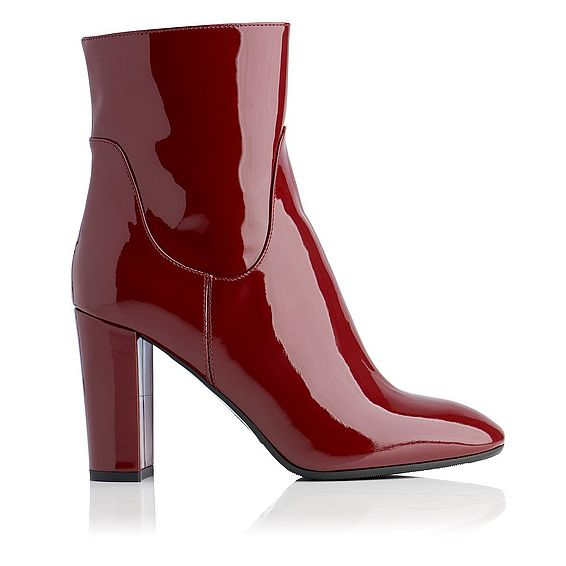 Pellino Patent Leather Ankle Boot