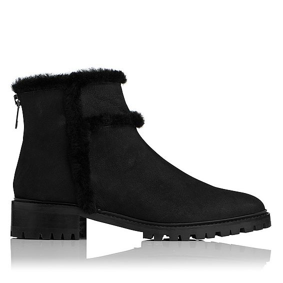 Thomasine Shearling Ankle Boot