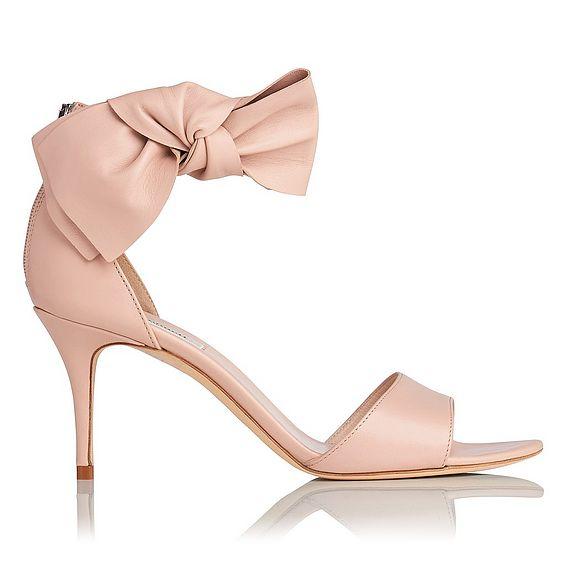 Agata Pink Bow Heel