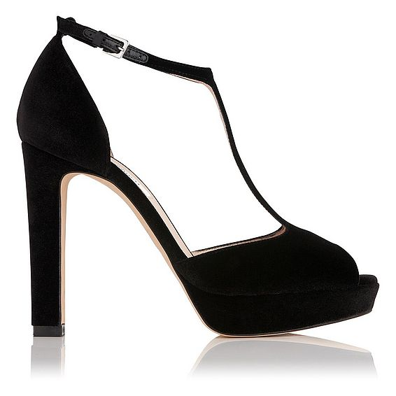 Baileigh Platform Heels Velvet