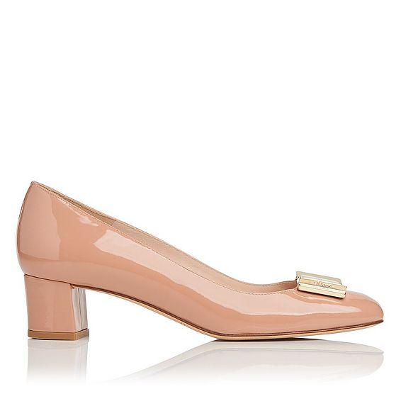 Emelia Patent Leather Heel