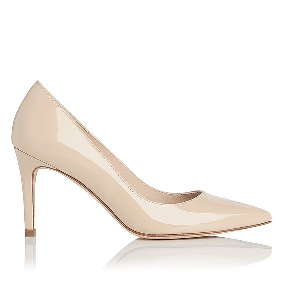 Floret Patent Leather Heel