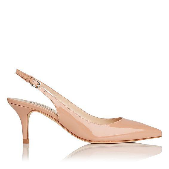 Florita Patent Leather Slingback Heel