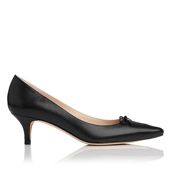 Georgie Leather Heel