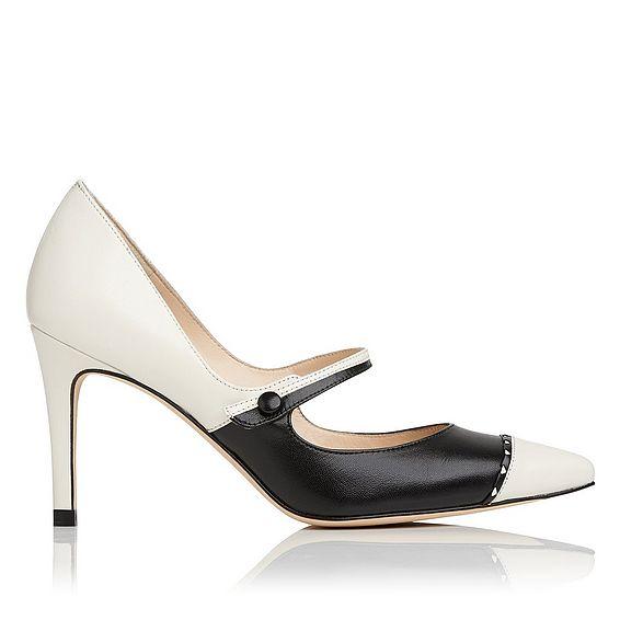 Laylah Leather Heel