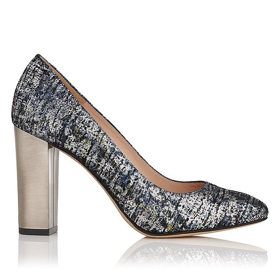 Manila Metallic Heel