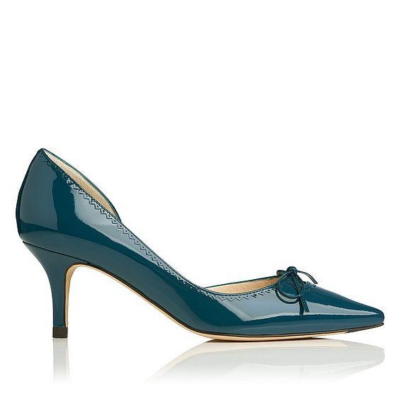 Penelope Patent Leather Heel