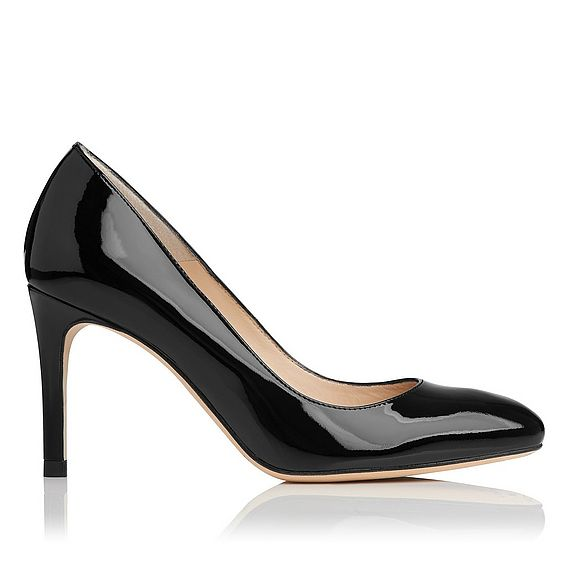 Sasha Patent Leather Heel