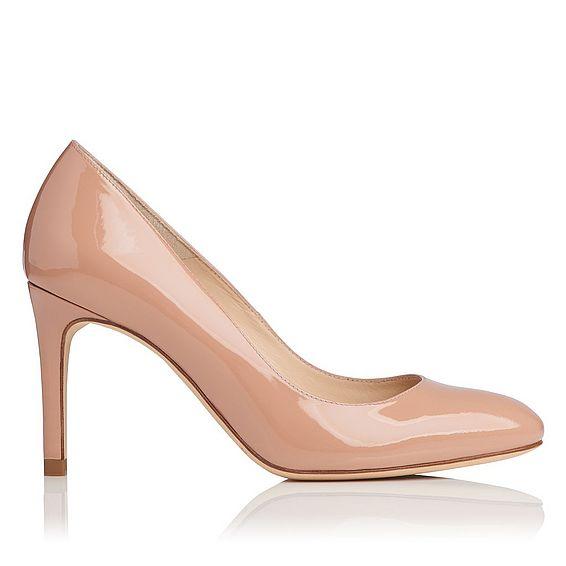 Sasha Patent Leather Heel