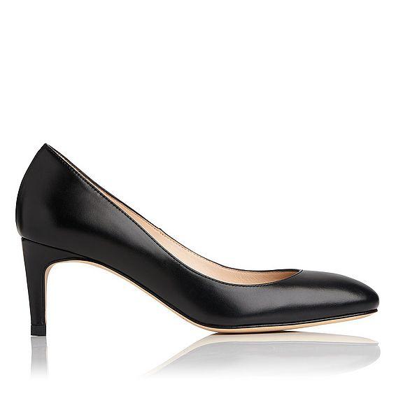 Sash Leather Heel