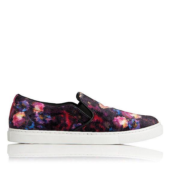 Berty Velvet Sneaker
