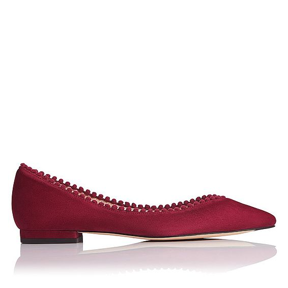 Florence Suede Flat