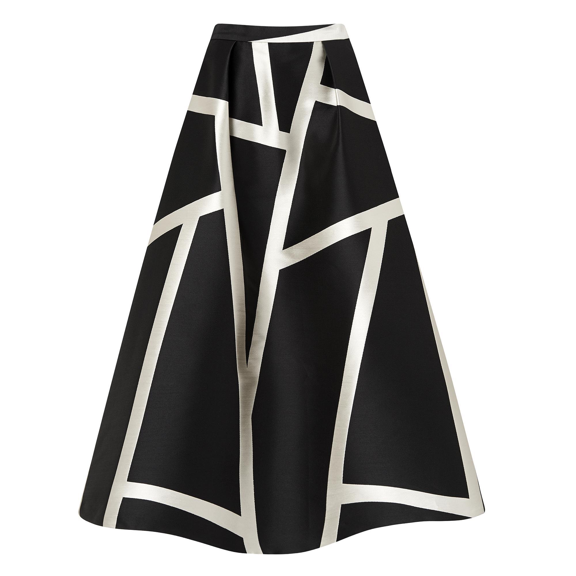 L.K.Bennett Aine Stripe Skirt