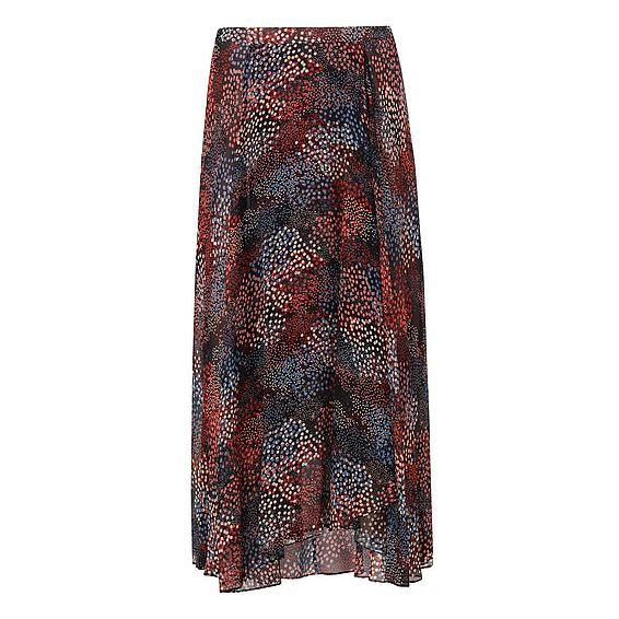 Cami Chiffon Print Skirt