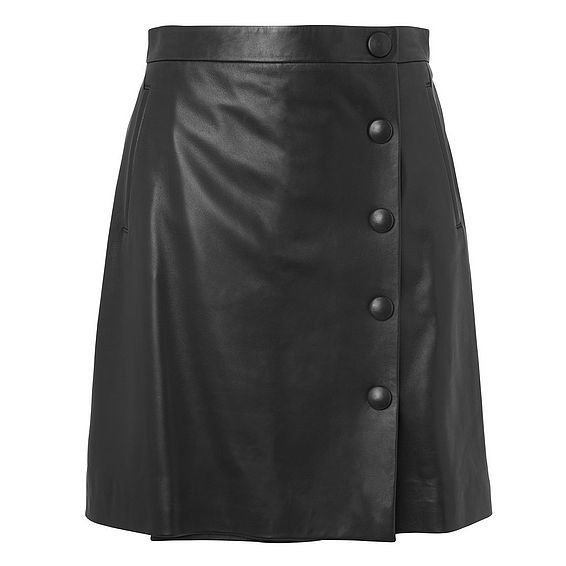 Diane Leather Mini Skirt