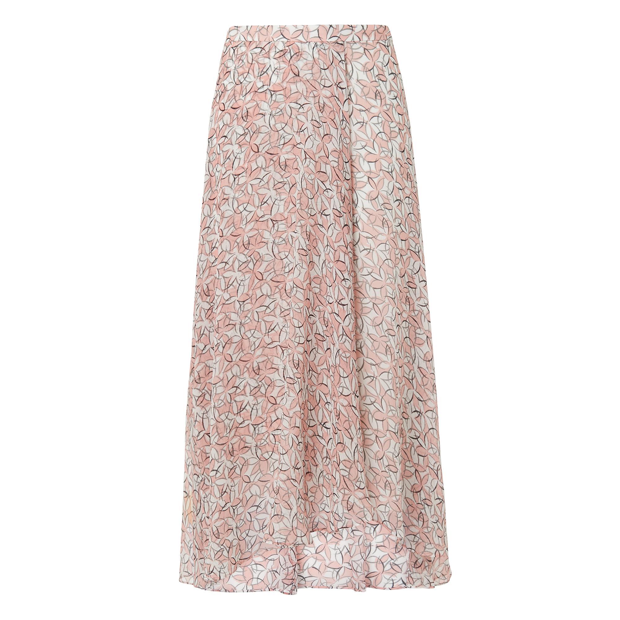 L.K.Bennett Karo Daisy Print Skirt