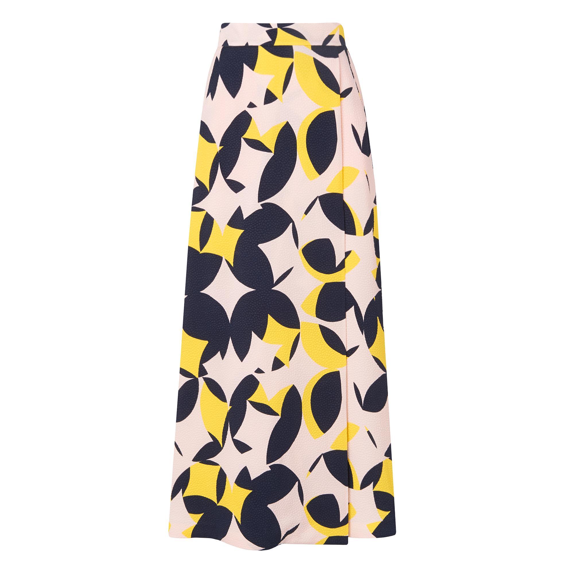 L.K.Bennett Lina Geometric Print Skirt