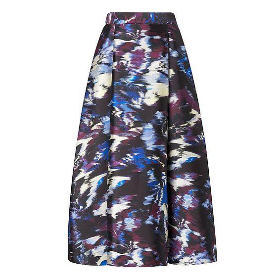 Loena Print Skirt