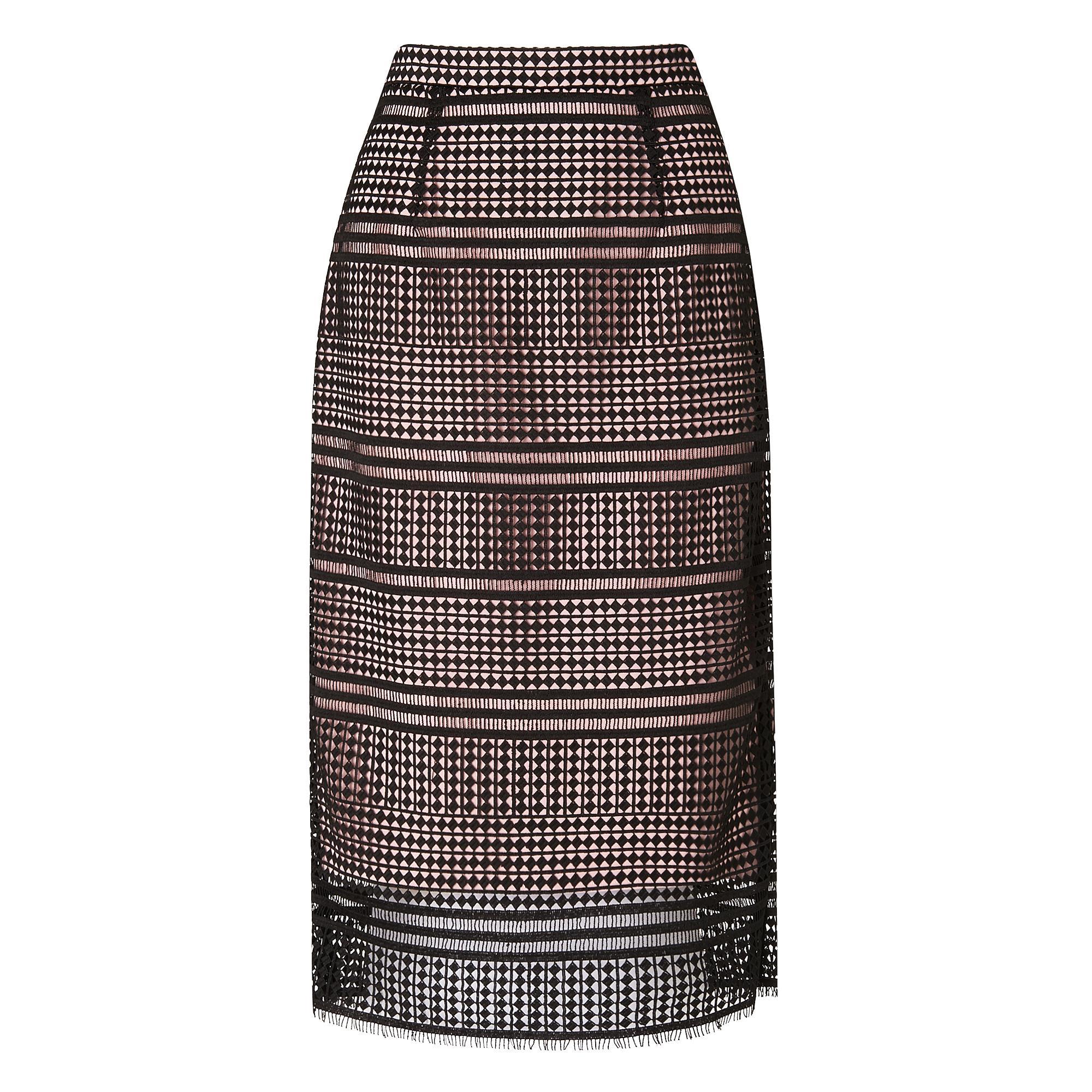 L.K.Bennett Maddox Lace Skirt