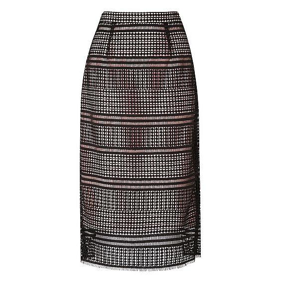 Maddox Black Lace Skirt
