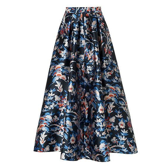 Tansia Statement Printed Skirt