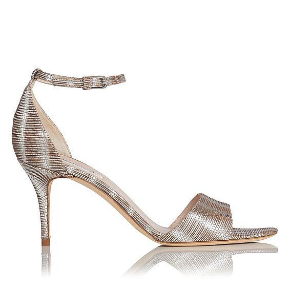 Mya Striped Sandal