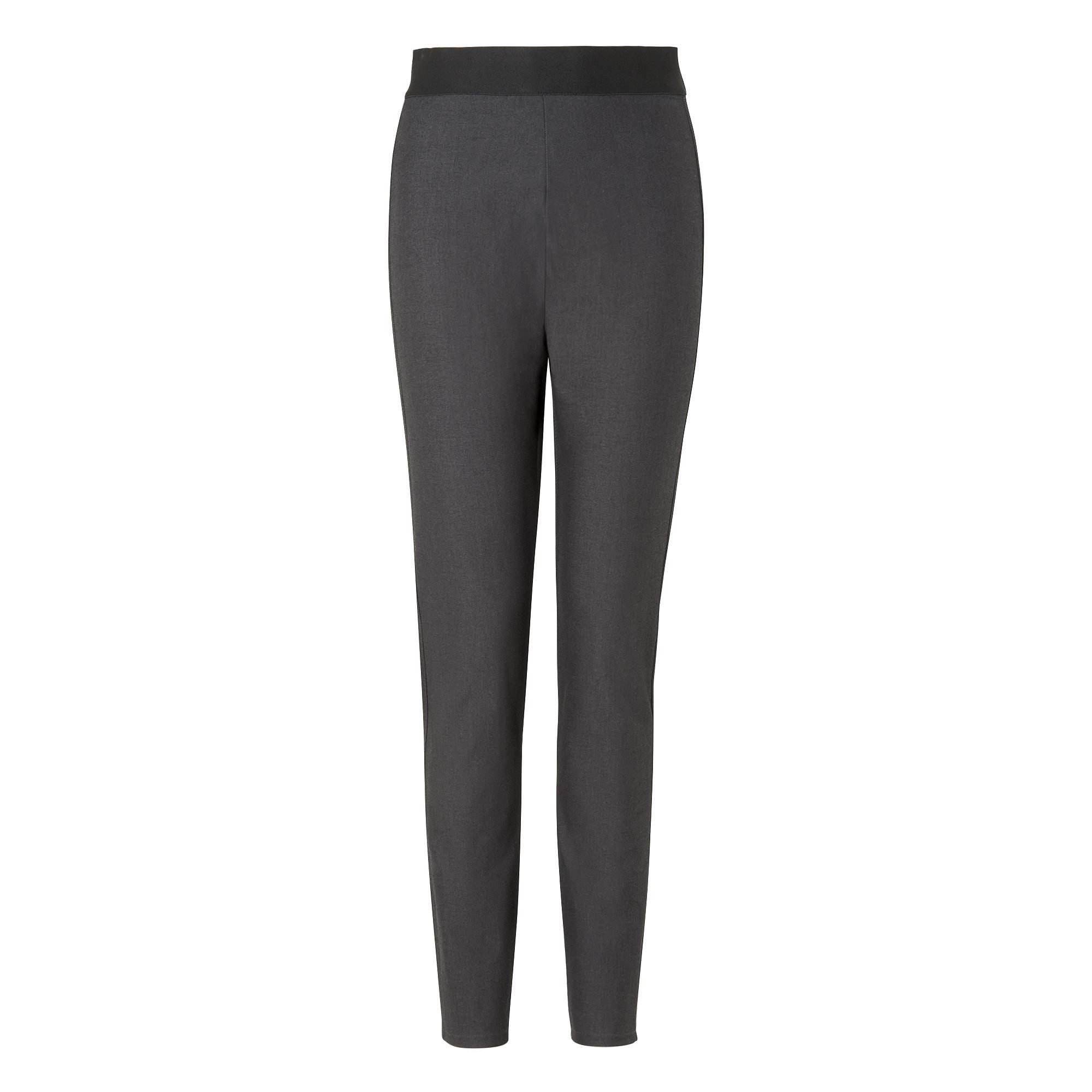 Adella Grey Skinny Pants