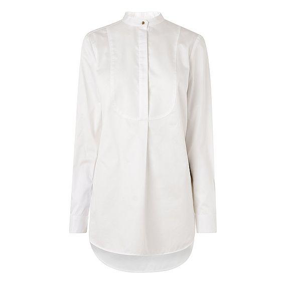 Laney White Crisp Bib Shirt