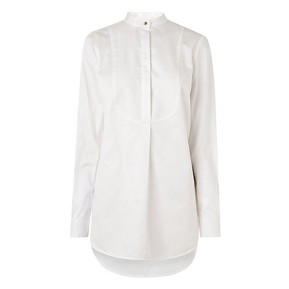 Laney White Crisp Bib Shirt