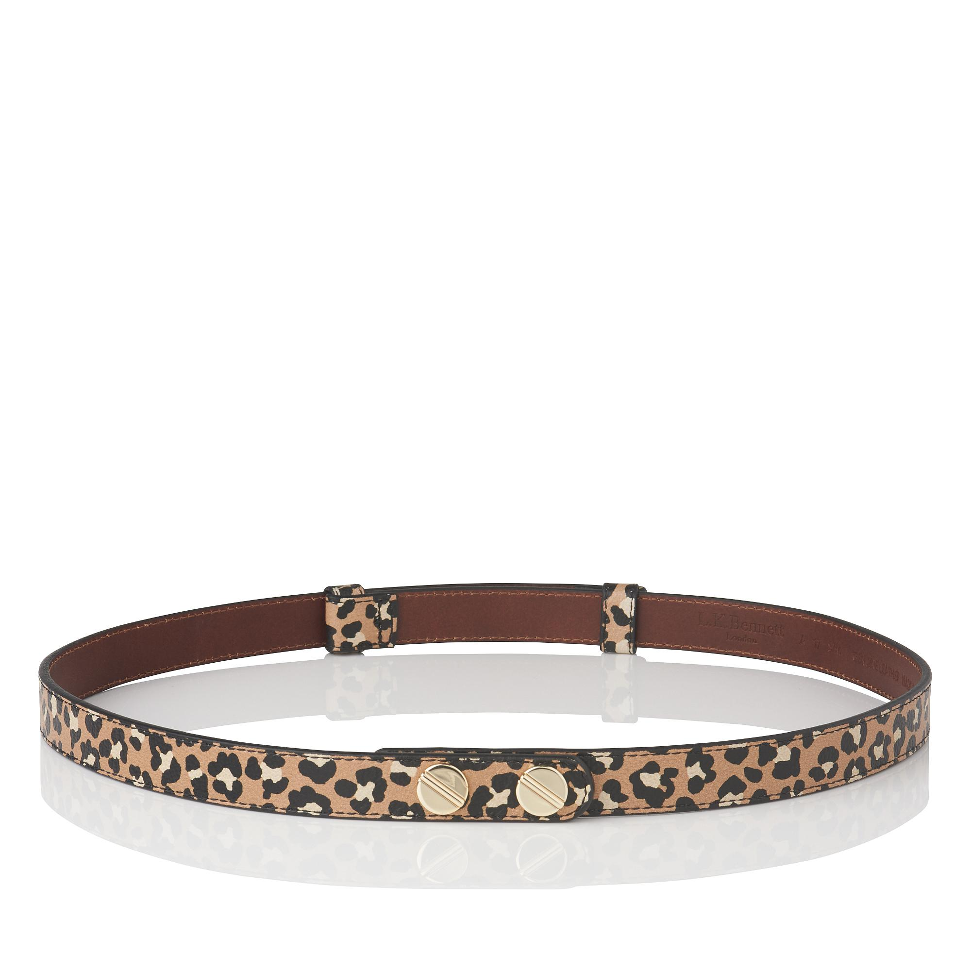 Zahara Animal Print Belt