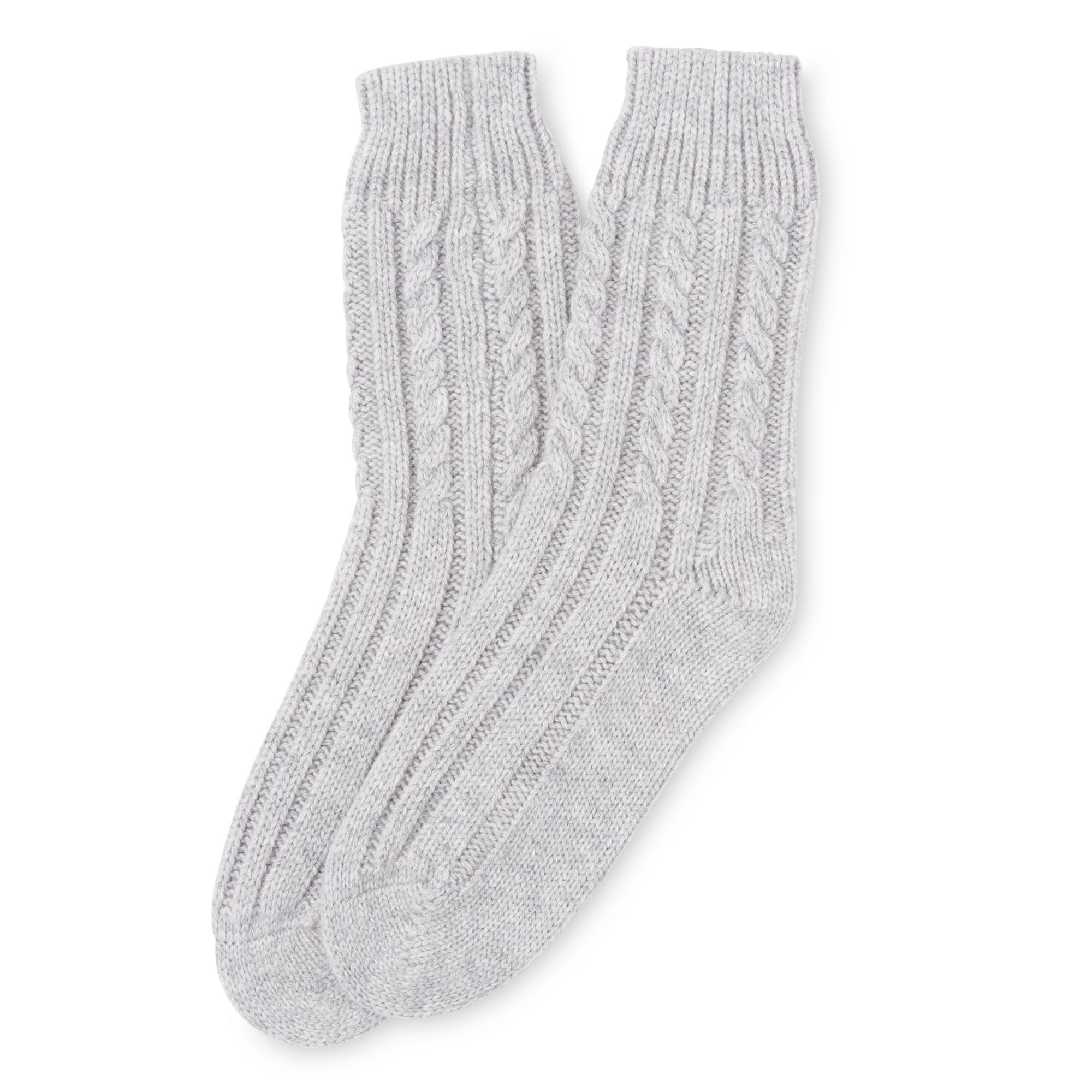 Cosima Grey Socks