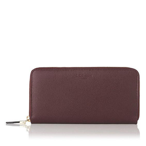 Kenza Oxblood Wallet