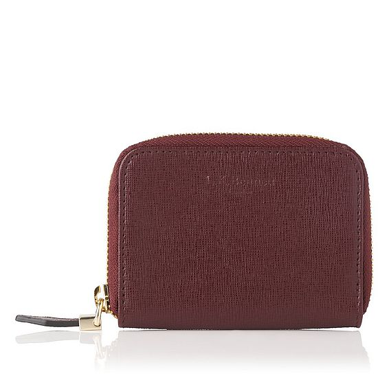 Rea Oxblood Card Case