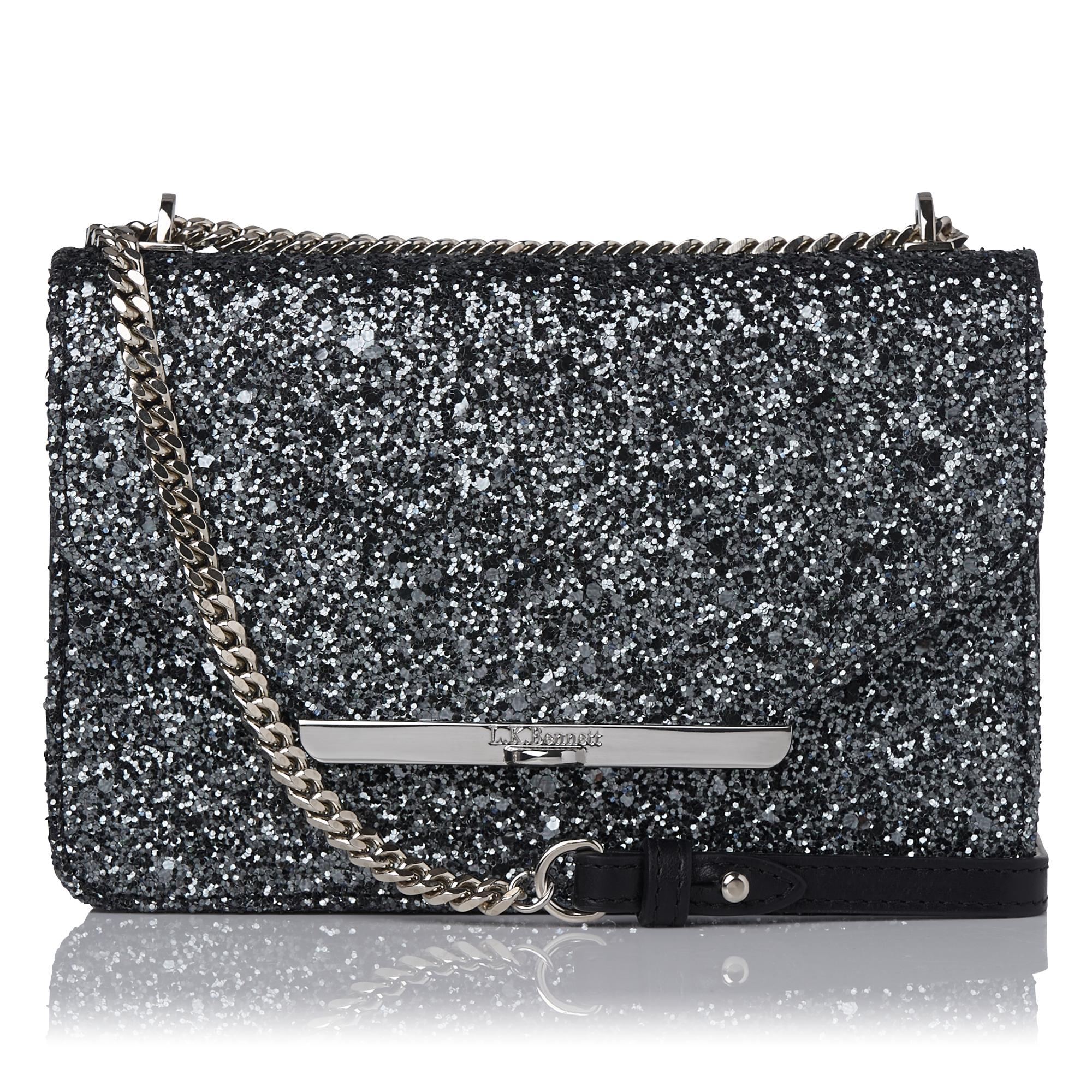 L.K.Bennett Karla Glitter Shoulder Bag