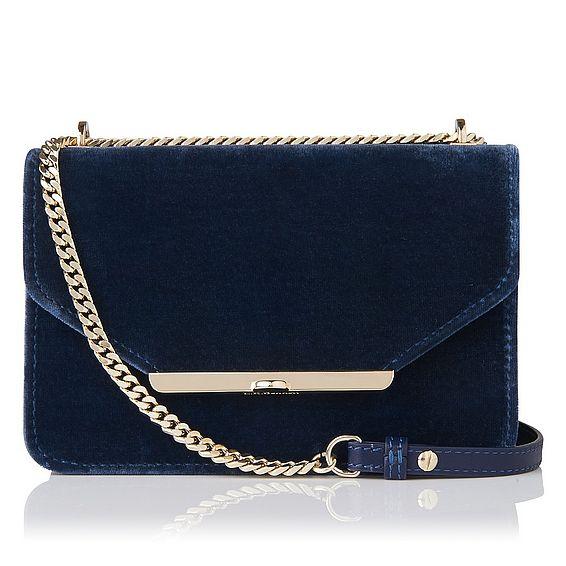 Karla Blue Shoulder Bag