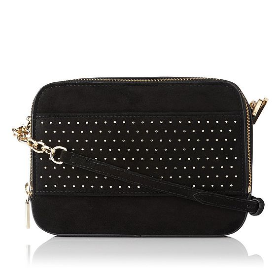 Mia Black Crossbody Bag