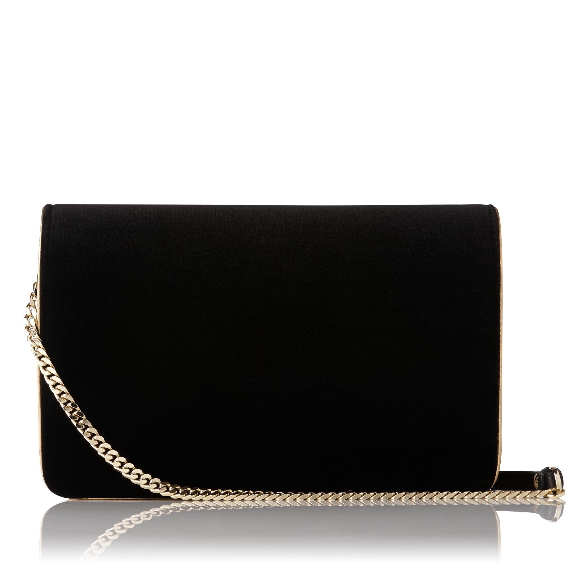 Selena Black Crossbody Bag